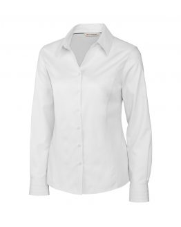 ladies-white-woven-shirt