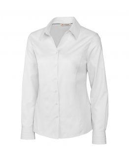 ladies-white-woven-shirt